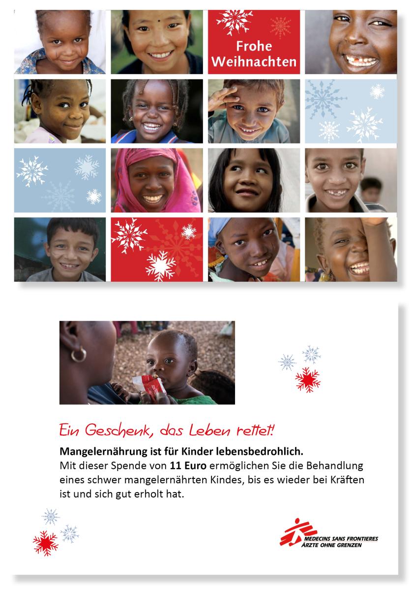 Ein Geschenk, das Leben rettet! | Ärzte ohne Grenzen - MSF