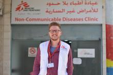 Raimund Alber ist Mental Health Activity Manager bei Ärzte ohne Grenzen