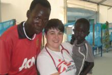 Vera Schmitz im Südsudan