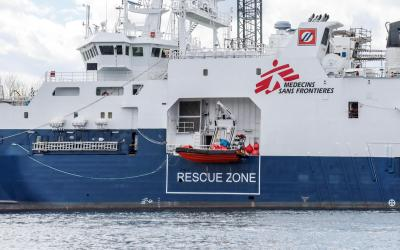 MSF Geo Barents ready to sail