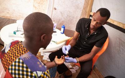 MSF HIV Testing Clinic's in Conakry
