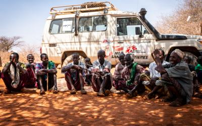 MSF Mobile Clinics and Tea Teams Somali Region